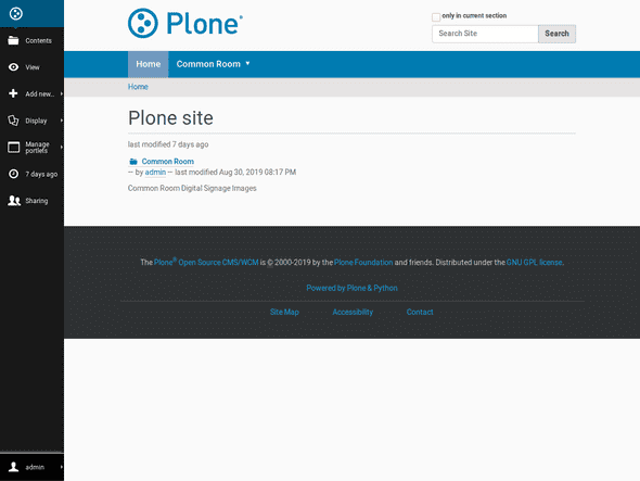 Plone – An enterprise open source content management system