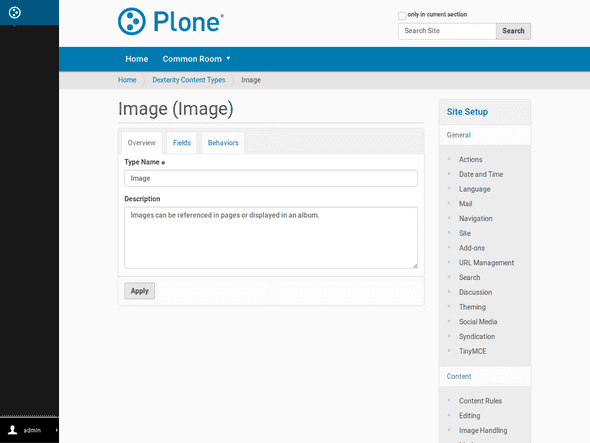 Plone supports customizing structured content fields directly form the browser